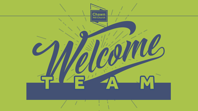 Welcome Team Meeting (8pm—9pm)