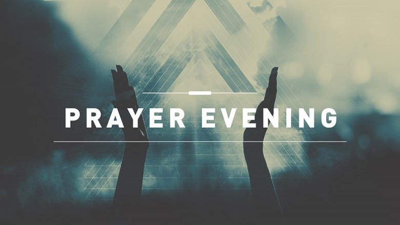 Prayer Evening — 7.30pm (via Zoom)